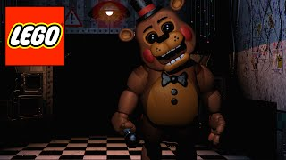 getlinkyoutube.com-How to build LEGO characters from FNAF 2 Part 3: Toy Freddy (HD)