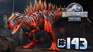 getlinkyoutube.com-Metriacanthosaurus & Glitch!! || Jurassic World - The Game - Ep 143 HD