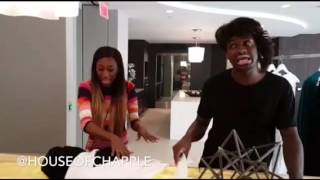 getlinkyoutube.com-@Lalasizahands89 And @BlameitonKway Shops At The House Of Chapple