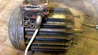 getlinkyoutube.com-3 phase siemens motor running on 240V single phase