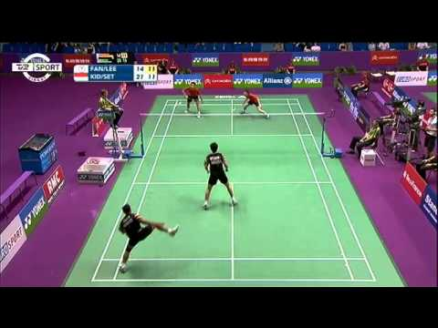 Amazing Badminton Rally - Kido/Setiawan vs Fang/Lee