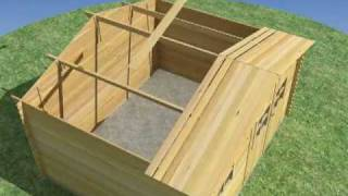getlinkyoutube.com-Instalar casetas de madera Espace&Nature