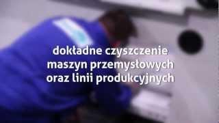 Czyszczenie parowe w fabrykach