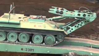 getlinkyoutube.com-Modellbau Neumünster 2015 - RC-Panzer 1/16 - 1/4