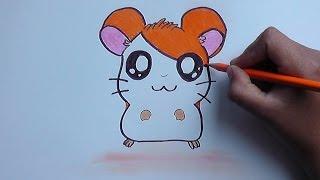 getlinkyoutube.com-Cómo Dibujar y Pintar a Hamtaro - how to draw and paint hamtaro