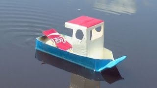 getlinkyoutube.com-How to Make a Simple Pop Pop Boat