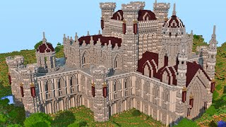 Minecraft - CONSTRUINDO UM CASTELO | Build Battle
