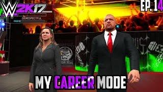 getlinkyoutube.com-THE AUTHORITY RETURNS!! - WWE 2K17 My Career Mode (Part 14)