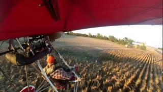 getlinkyoutube.com-Flying the Quicksilver Ultralight