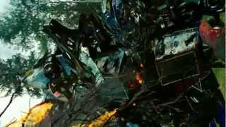 getlinkyoutube.com-Transformers Revenge Of The Fallen Optimus Prime VS Megatron & Starscream & Grindor