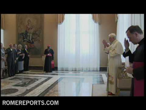 The pope receives participants of the session of Pontifical Academy of Social Sciences