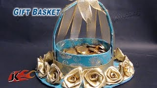 getlinkyoutube.com-DIY  Wedding Gift Basket  | How to make | JK Wedding Craft 013