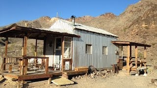 getlinkyoutube.com-Exploring Two Old Mining Cabins and Mining Prospects