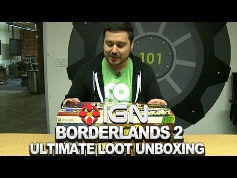 Borderlands 2 Ultimate Loot Chest Edition Unboxing -0kwMS7jS-jA