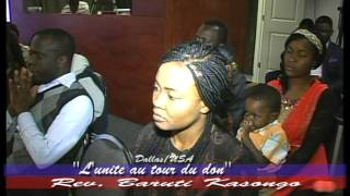 getlinkyoutube.com-Rev. Baruti Kasongo ' L' UNITE AU TOUR DU DON'