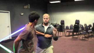 getlinkyoutube.com-UltraSabers battle: Josh vs Joel