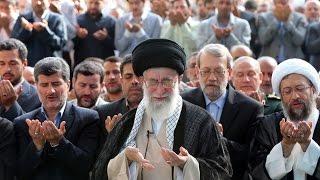 getlinkyoutube.com-Ayatullah Khamenei Leads Eid Prayers 2014