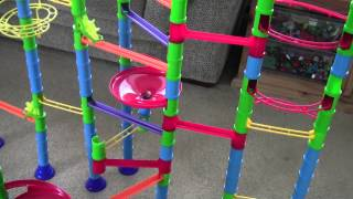 getlinkyoutube.com-Quercetti Intelligent Toys Marble Run in Action