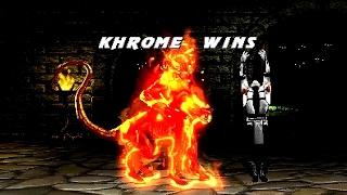 getlinkyoutube.com-Mortal Kombat Project 4.1 - Khrome playthrough