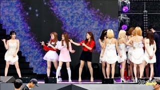 getlinkyoutube.com-[직캠/FANCAM] 150912 소녀시대 (SNSD) 라이언하트 (Lion Heart), 지 (Gee) 리허설 (Rehearsal) @ MBC 음악중심