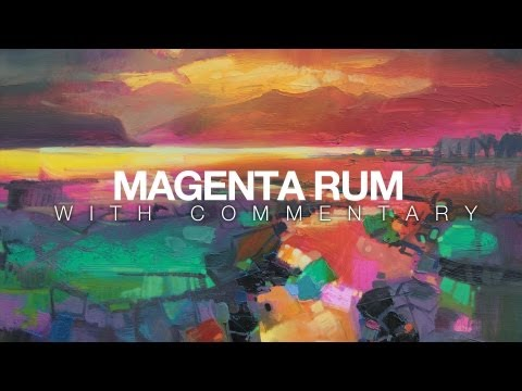 Oil Painting Demo: Magenta Rum