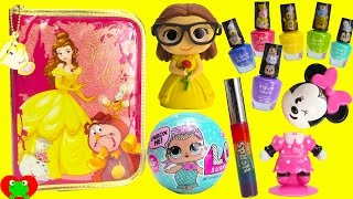 Beauty and the Beast Belle Stationary Kit Nail Polishes and Surprises