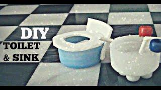 *DIY* Lps Toilet and Sink + Bonus Mirror