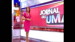 getlinkyoutube.com-Ana Sofia Cardoso sexy no Jornal da Uma - TVI (09-02-2014)