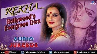 getlinkyoutube.com-Rekha : Bollywood's Evergreen Diva || Best Bollywood Songs || Audio Jukebox