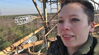 getlinkyoutube.com-climbing and exploring Duga-3 / Дуга-3, the Russian Woodpecker / Chernobyl-2 radar site