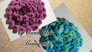 getlinkyoutube.com-crochet Dahlia flower