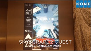 getlinkyoutube.com-SKYSCRAPER QUEST 1-5: Kone Hi-speed Traction Lifts (51-65) @ MLC Centre