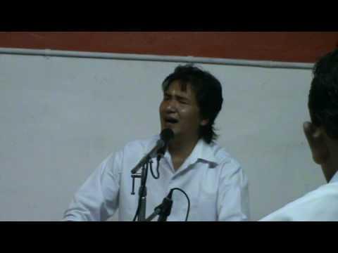 Sri Ajnish Rai sings Guru Deva Priya Deva Sai Deva Daya Maya
