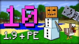 getlinkyoutube.com-✔ Minecraft 1.9 - 10 Features Taken from Pocket Edition