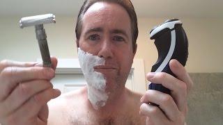 Electric Razor Shaving vs Safety Razor Shaving
