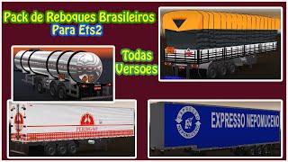 getlinkyoutube.com-Pack de Reboques Brasileiros para Euro Truck 2 !!