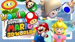 getlinkyoutube.com-ABM: Super Mario 3D World (Mushroom & Flower World) HD Part 2