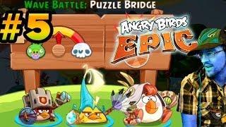 getlinkyoutube.com-Lets Play Angry Birds EPIC PART 5: Matilda the Healer! Tough Monty + More Upgrades (iOS Face Cam)