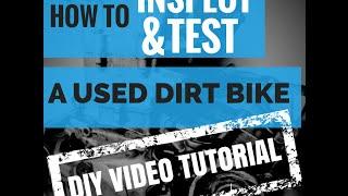 getlinkyoutube.com-Tips on Buying a Used Dirt Bike - How To Video Tutorial