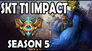 getlinkyoutube.com-SKT T1 Impact Nunu vs Kayle Jungle Ranked Challenger Korea