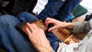 getlinkyoutube.com-Rolling an OUNCE Blunt 5 minutes before 420 @ 420Toronto!