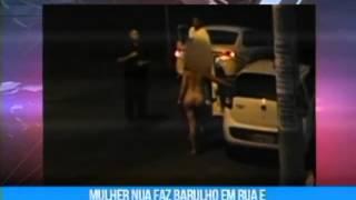 getlinkyoutube.com-Mulher fica nua em público cria tumultuo, incomoda e constrange moradores em Goiânia