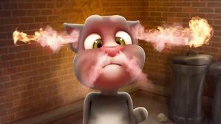 getlinkyoutube.com-Говорящий Кот Том часть 1 - Мультфильм Игра