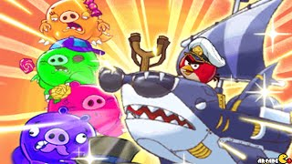 getlinkyoutube.com-Angry Birds Fight! RPG Puzzle - New Kaiju Family Monster Pig!