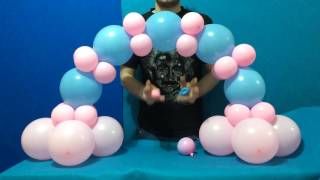 getlinkyoutube.com-Dollar Store Balloon Arch Tutorial!