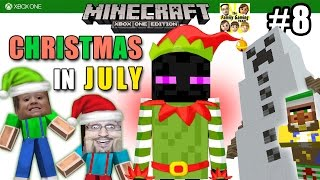 getlinkyoutube.com-Dad & Son play MINECRAFT XBOX ONE: Christmas In JULY! NEW MINI-ADVENTURE! (FGTEEV #8) #AdamsAppleHit