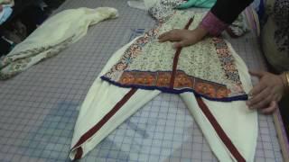 getlinkyoutube.com-lawn kurti and tulip salwar