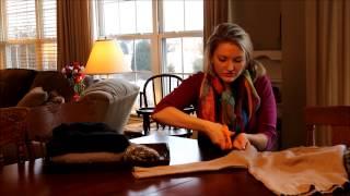 getlinkyoutube.com-DIY Leg Warmers in less than 1 minute