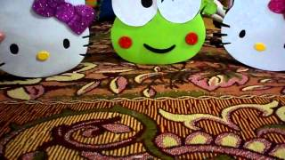 manualidad dulceros de hello kity