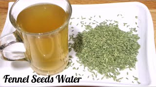 getlinkyoutube.com-Fennel Seeds Water for Weight loss Fast/ Saunf Water